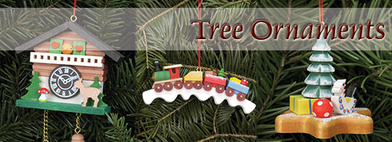 Christmas Tree Ornaments German Erzgebirge